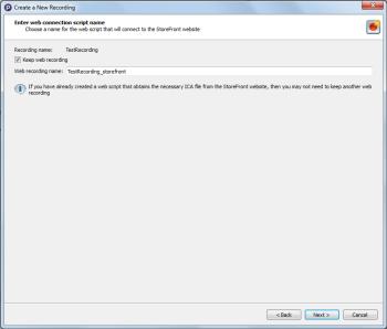 Recording a Citrix StoreFront Script