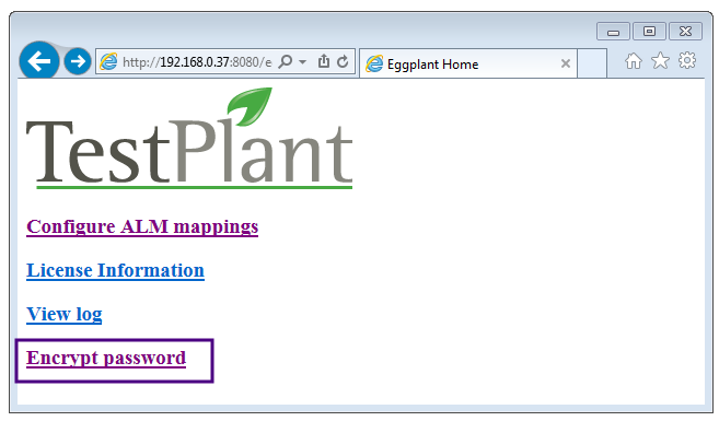 Configuring eggIntegration for HP ALM