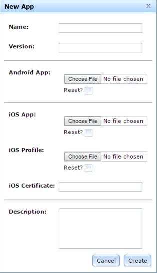 Mobile App Management